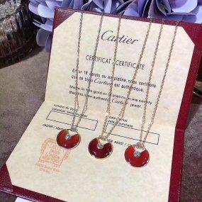 cartier amulette necklace