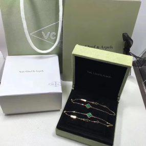van cleef bracelet with gift box