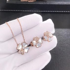 van cleef jewelry set