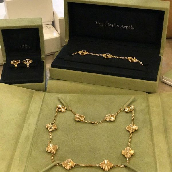 Imitation van cleef & arpels jewelry set