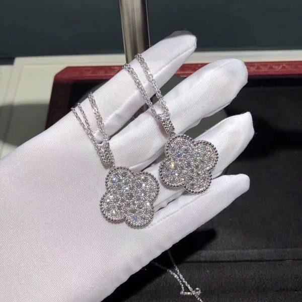 Fake Van Cleef & Arpels Magic Alhambra long necklace