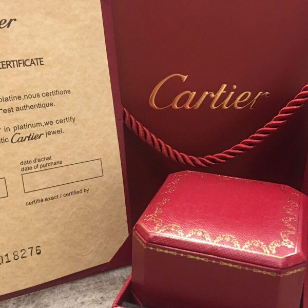 Cartier double ring necklace replica