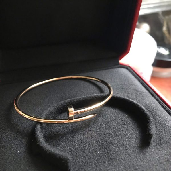 Fake Cartier juste un clou bracelet yellow gold