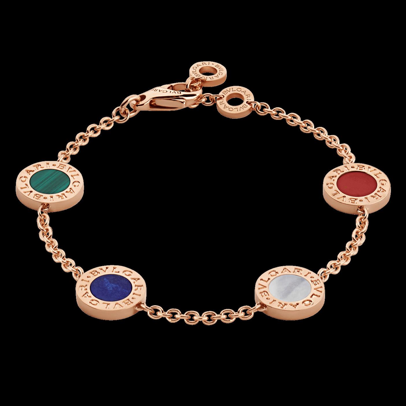 Fake Bulgari Bracelet 18k rose gold