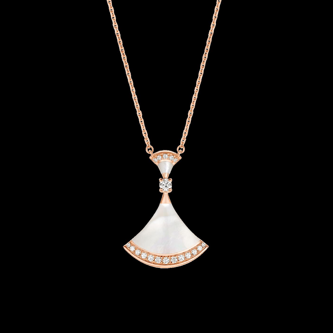 fake bulgari diva necklace diamonds