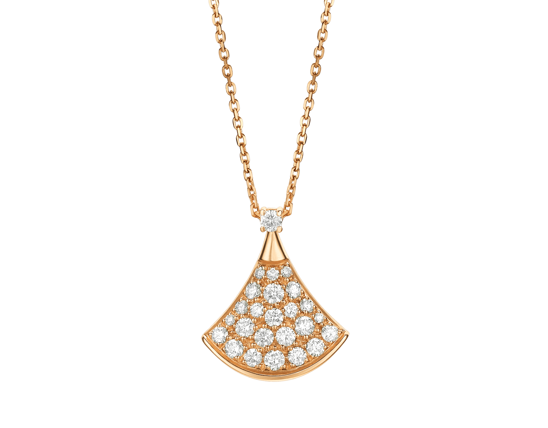 duplicate bulgari necklace diamonds