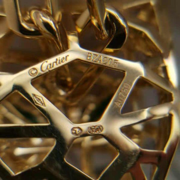 replica Panthere De Cartier Necklace Man 18K Gold
