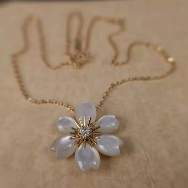 replica Rose de Noël pendant, mini model